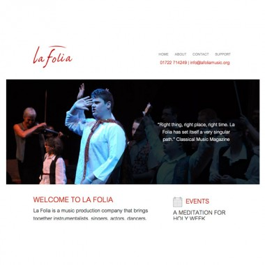 La Folia Website